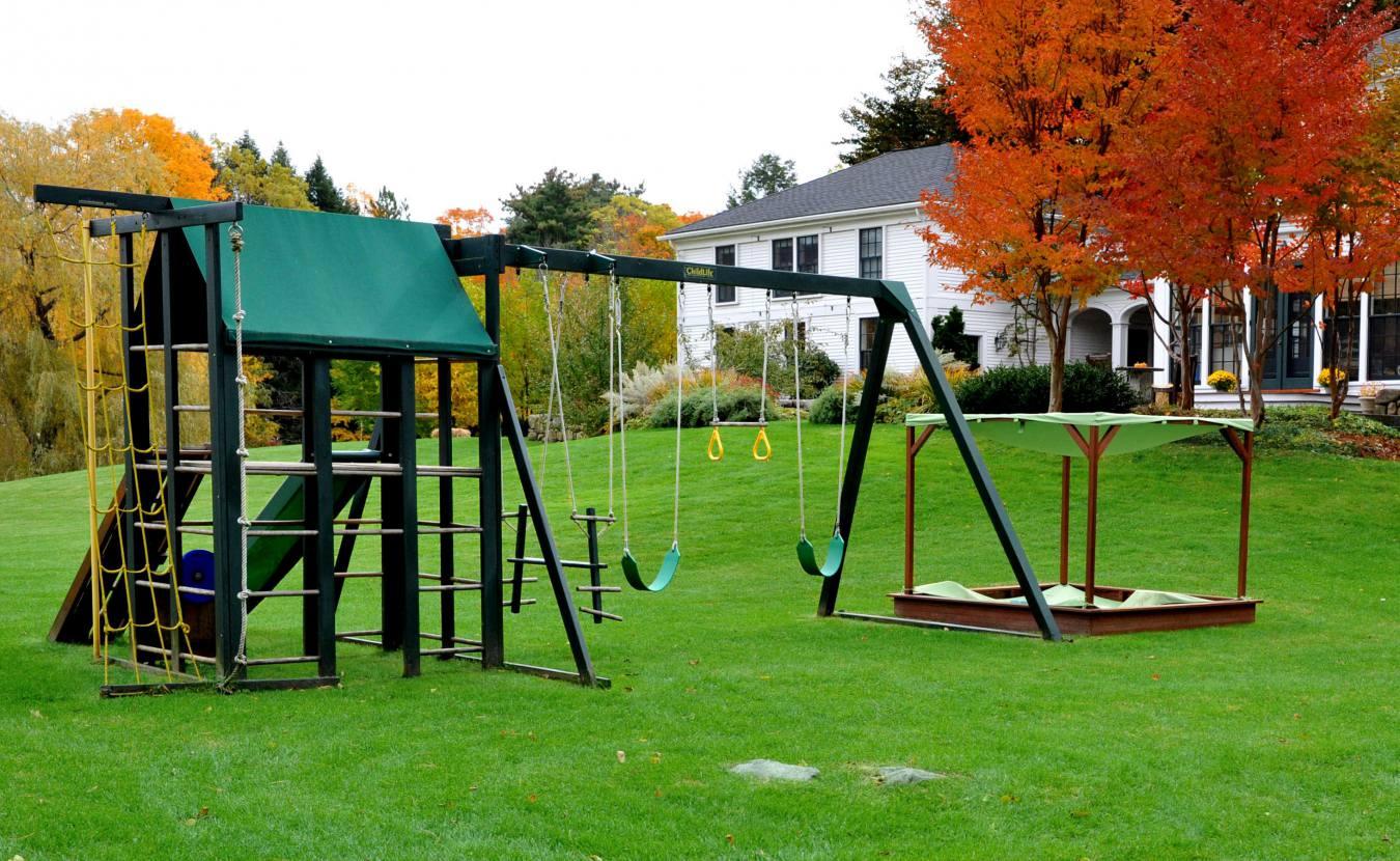 Детская площадка своими руками схемы