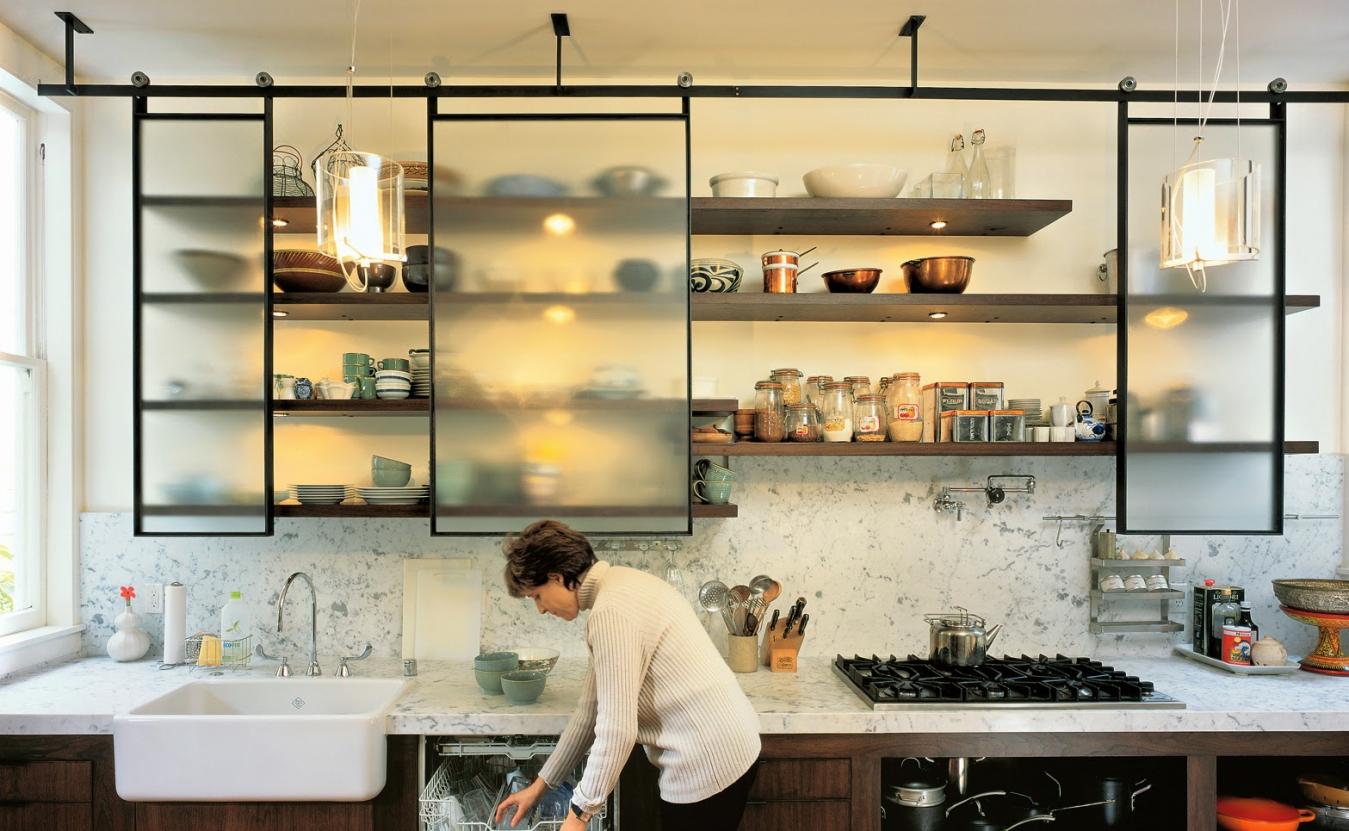 Полки на кухне фото своими руками