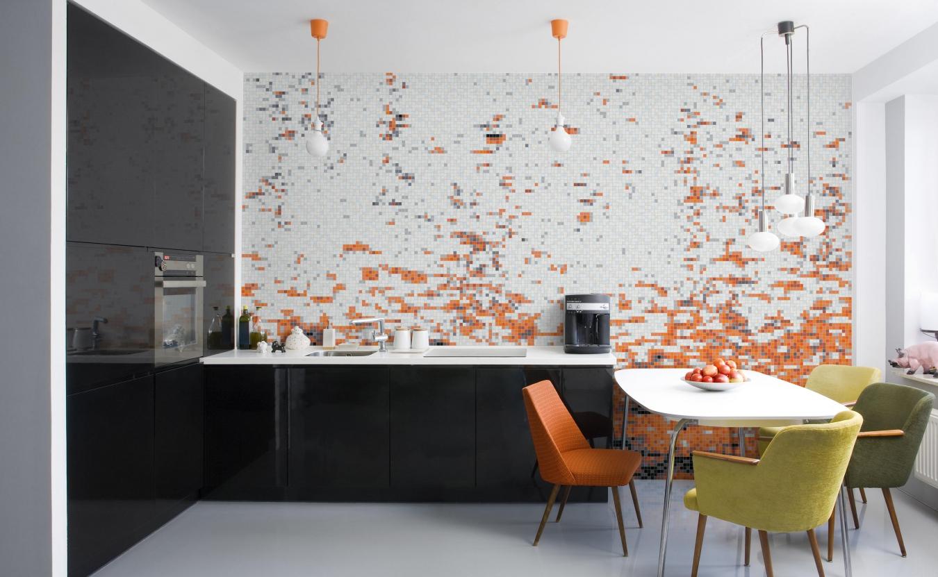 Кафель в кухне идеи фото