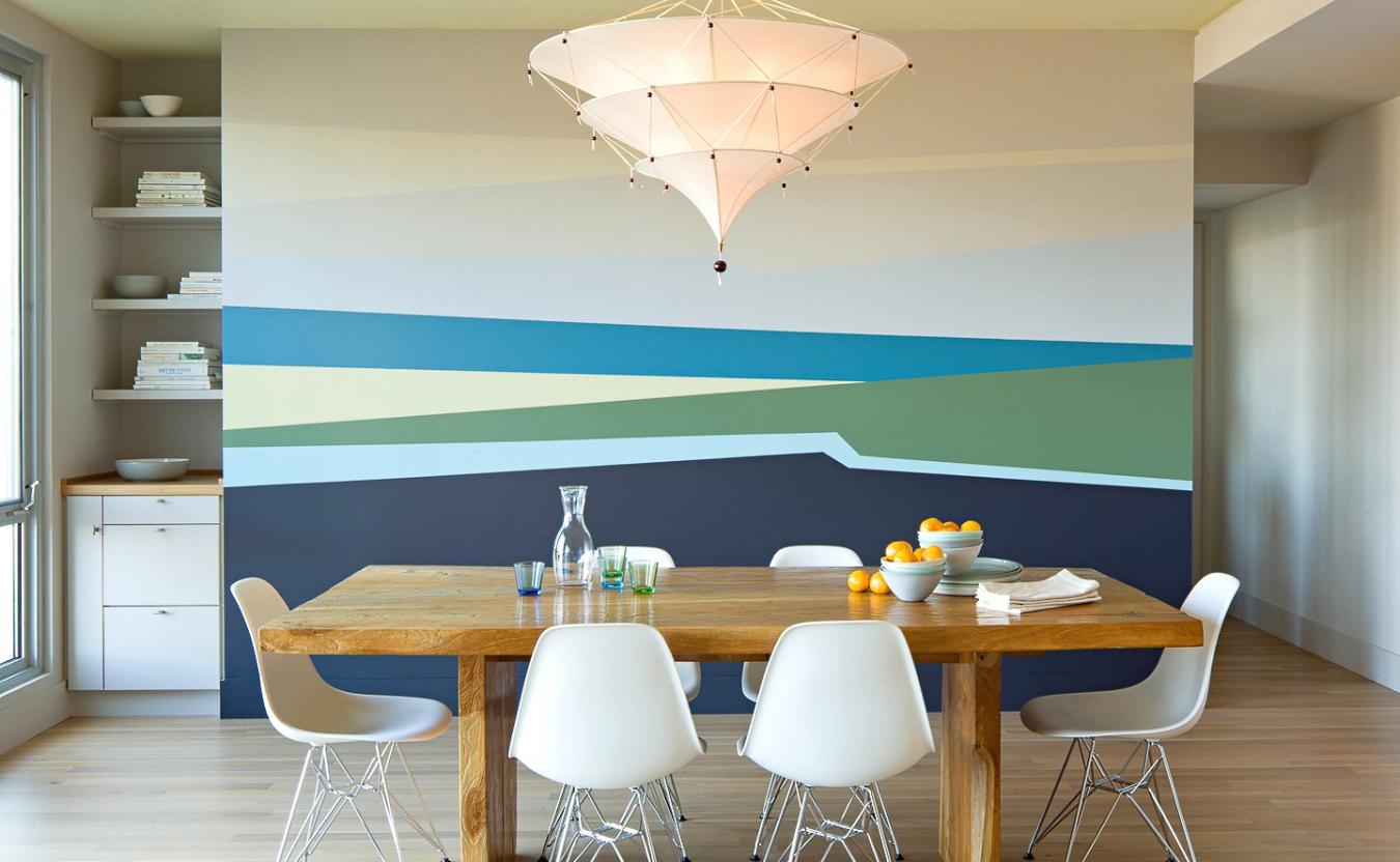 Покраска стен идеи фото кухни