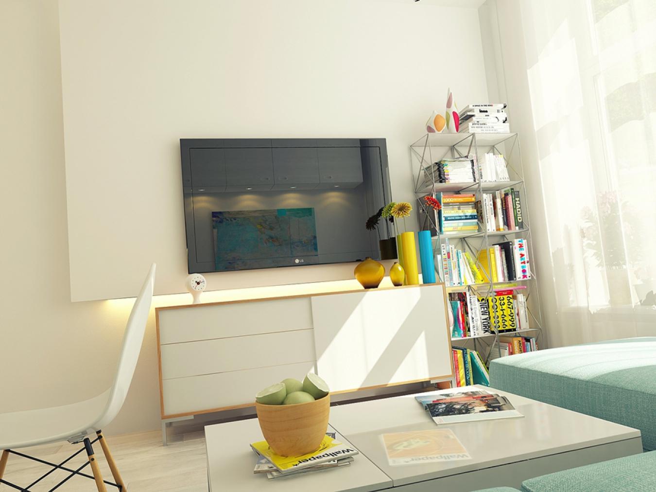 Однокомнатная квартира дизайн 29 квм