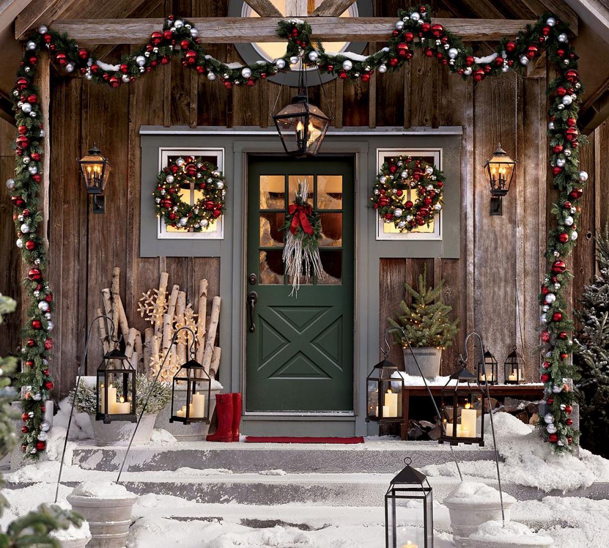 Декор на рождество своими руками